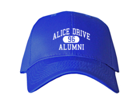 Alice Drive Middle School Embroidered Baseball Caps