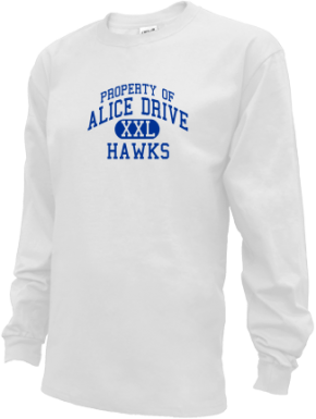 Alice Drive Middle School Kid Long Sleeve Shirts