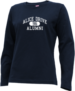 Alice Drive Middle School Long Sleeve Shirts