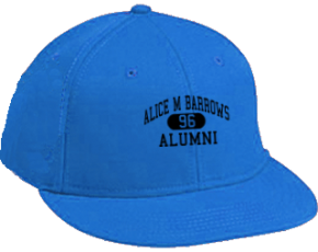 Alice M Barrows Elementary School Flat Visor Caps