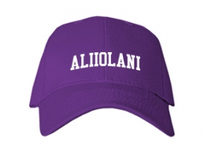Aliiolani Elementary School Kid Embroidered Baseball Caps