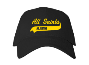 All Saints School Embroidered Baseball Caps