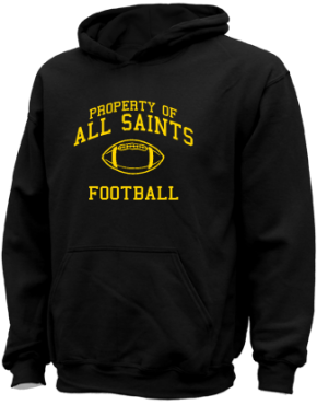 All Saints School Kid Hooded Sweatshirts