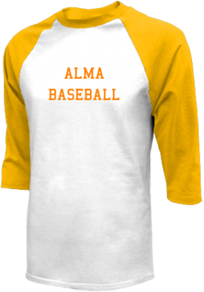 Alma High School Raglan Shirts