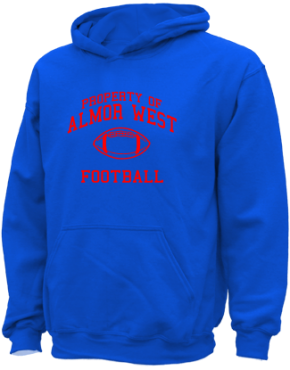 Almor West Elementary School Kid Hooded Sweatshirts