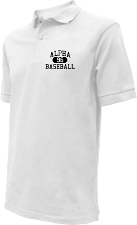 Alpha High School Embroidered Polo Shirts