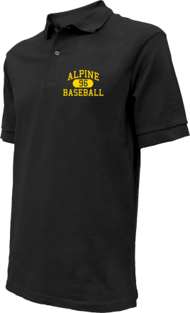 Alpine High School Embroidered Polo Shirts