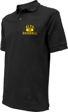 Alva High School Embroidered Polo Shirts