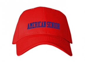 American Senior High School Kid Embroidered Baseball Caps