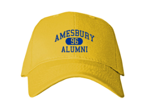 Amesbury Middle School Embroidered Baseball Caps