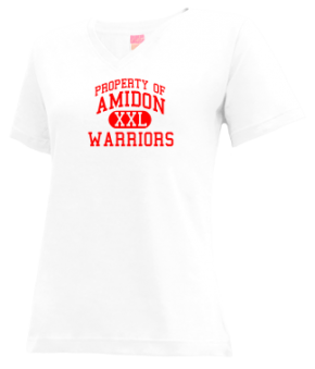 Amidon Elementary School V-neck Shirts