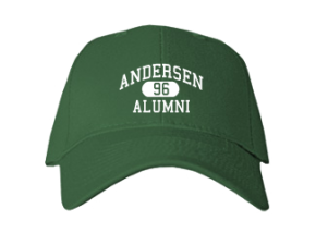 Andersen Elementary School Embroidered Baseball Caps