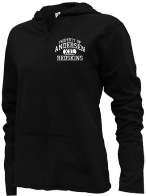 Andersen Elementary School Girls Zipper Hoodies