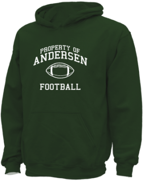 Andersen Elementary School Kid Hooded Sweatshirts