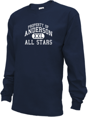 Anderson Elementary School Kid Long Sleeve Shirts
