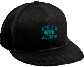 Apollo Middle School Flat Visor Caps