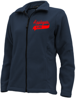Applegate Elementary School Embroidered Fleece Jackets