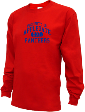 Applegate Elementary School Kid Long Sleeve Shirts