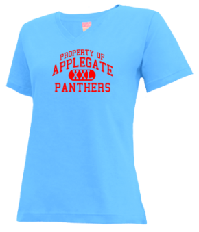 Applegate Elementary School V-neck Shirts