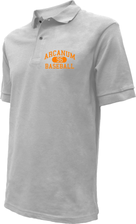 Arcanum High School Embroidered Polo Shirts