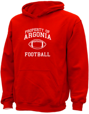 Argonia High School Kid Hooded Sweatshirts