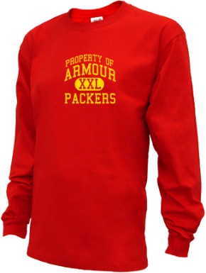 Armour Elementary School Kid Long Sleeve Shirts