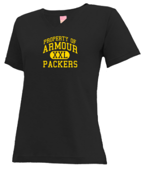 Armour Elementary School V-neck Shirts