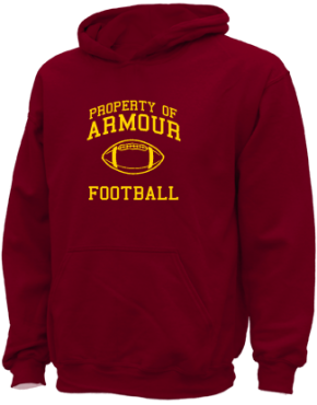 Armour Elementary School Kid Hooded Sweatshirts