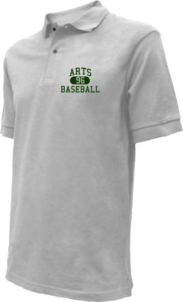 Arts High School Embroidered Polo Shirts