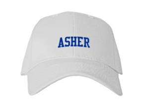 Asher High School Kid Embroidered Baseball Caps
