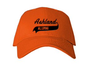 Ashland Middle School Embroidered Baseball Caps