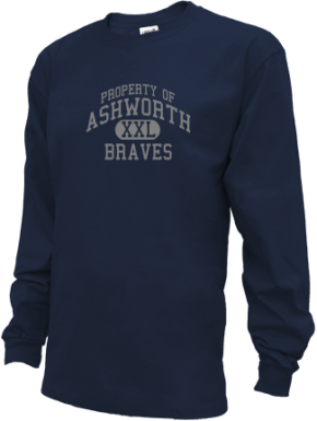 Ashworth Middle School Kid Long Sleeve Shirts