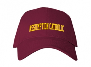 Assumption Catholic High School Kid Embroidered Baseball Caps