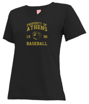 Athens High School V-neck Shirts