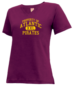 Atlantic Elementary School V-neck Shirts