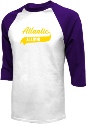 Atlantic Elementary School Raglan Shirts