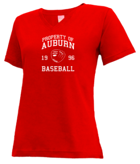 Auburn High School V-neck Shirts