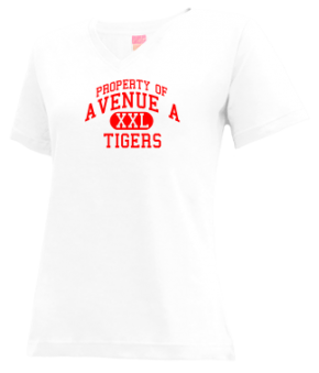 Avenue A Elementary School V-neck Shirts