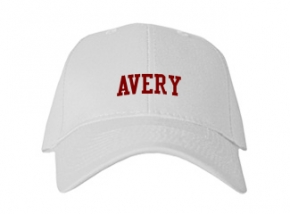 Avery High School Kid Embroidered Baseball Caps