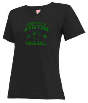 Aviation High School V-neck Shirts