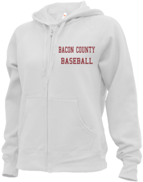 Bacon County High School Zip-up Hoodies