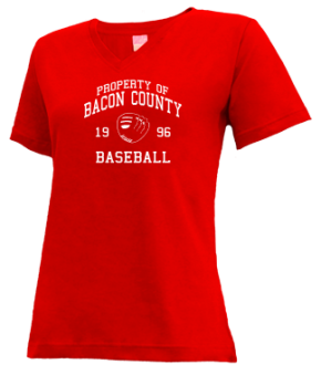 Bacon County High School V-neck Shirts