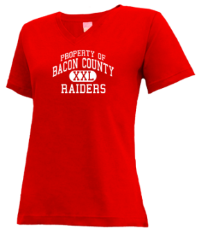 Bacon County Middle School V-neck Shirts