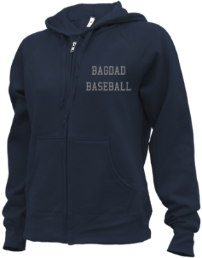 Bagdad High School Zip-up Hoodies