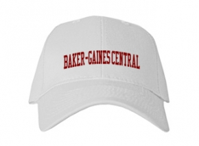 Baker-gaines Central High School Kid Embroidered Baseball Caps