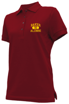 Baker High School Embroidered Polo Shirts