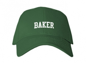 Baker Junior High School Kid Embroidered Baseball Caps