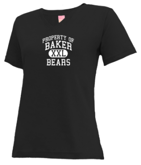 Baker Junior High School V-neck Shirts