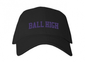 Ball High School Kid Embroidered Baseball Caps