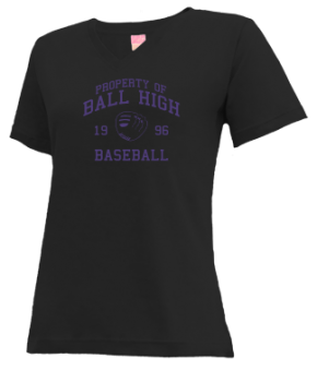 Ball High School V-neck Shirts